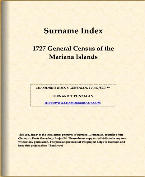 1727 Surname Index e-Book