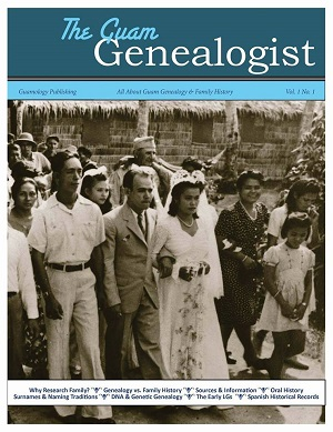 GuamGenealogist Issue1 Cover small